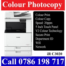 Canon IR C3020 Colour photocopy Machines Sri-Lanka