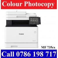 Canon MF 735cx Colour Laser Photocopy Machines sale in Colombo Sri Lanka