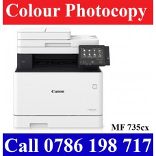 Canon MF 735cx Colour Laser Photocopy Machines sale in Colombo Sri Lanka