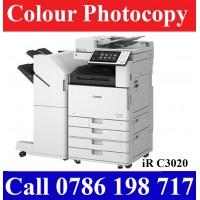Canon iR C3020 Full Option Colour Photocopy Machines Sri Lanka