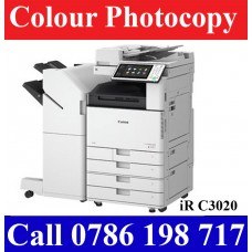 Canon iR C3020 Full Option Colour Photocopy Machines Sri Lanka