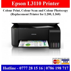 Epson L3110 Colour photocopy machine sale in Colombo, Gampaha Sri Lanka