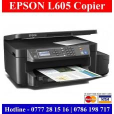 Epson L605 colour photocopy machine with duplex Sri Lanka