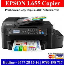 Epson L655 Multi Function Printers Sri Lanka. Colour Photocopy Machine