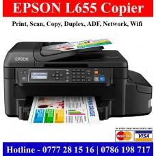 Epson L655 Multi Function Printers Sri Lanka. Colour Photocopy Machine