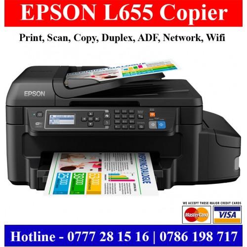 Epson L655 Multi Function Printers Sri Lanka Colour