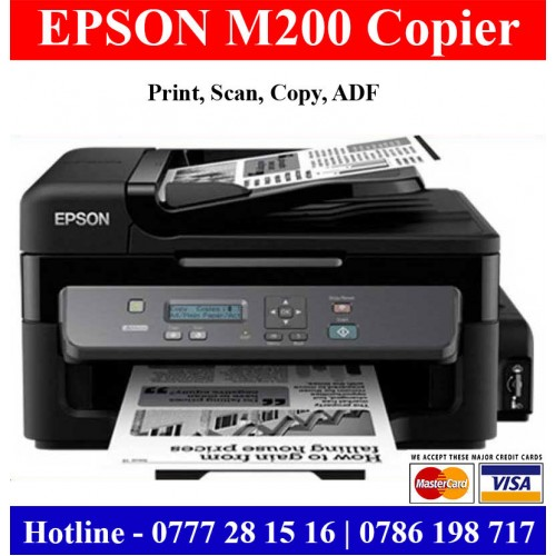 Epson M200 Photocopy Machines Sri Lanka High Speed Photocopy