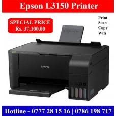 Epson L3150 Printer Price Colombo, Sri Lanka. A4 Colour Photocopy Machine with WIfi
