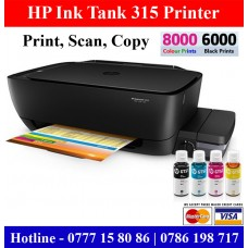 HP Ink Tank 315 Colour Photocopy Machine Sri Lanka
