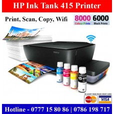 HP Ink Tank 415 Wifi Colour Photocopy Machines Sri Lanka