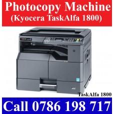 Kyocera TaskAlfa 1800 Photocopy Machines price Sri Lanka