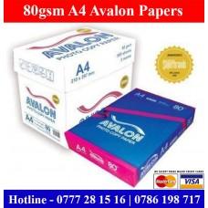 Avalon Photocopy Paper Suppliers Sri Lanka.
