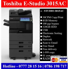Toshiba E-Studio 3015AC Colour Photocopy Machine Sri Lanka