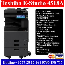 Toshiba E-Studio 4518A Photocopy Machines Colombo, Sri Lanka