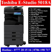 Toshiba E-Studio 5018 Photocopy Machines Supplier Sri Lanka