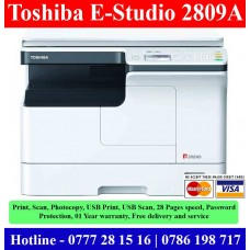 Toshiba E-Studio 2809 Photocopy Machines sale Sri Lanka