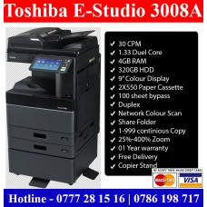 Toshiba E-Studio 3008A photocopy machines Sri Lanka sale price